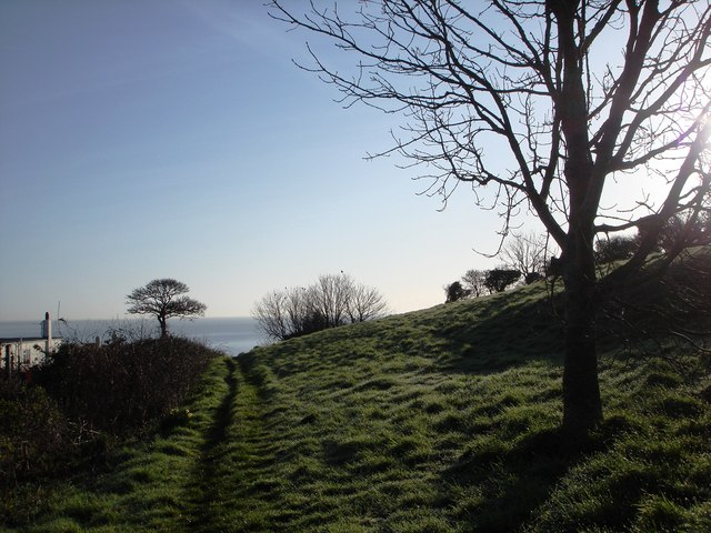 Footpath to Sugar  Loaf, early morning