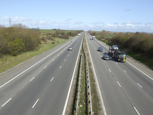 M5 looking north