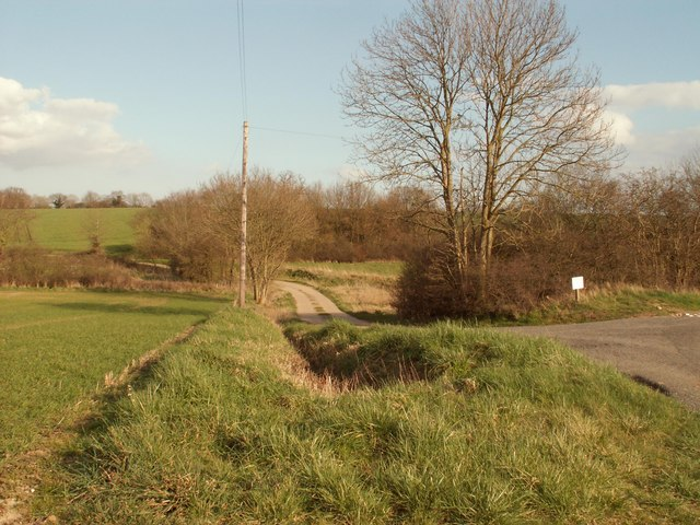 Road to Bush Hill Farm, at Cookley