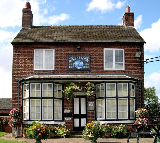 The Anchor Inn at High Offley, Shropshire Union Canal