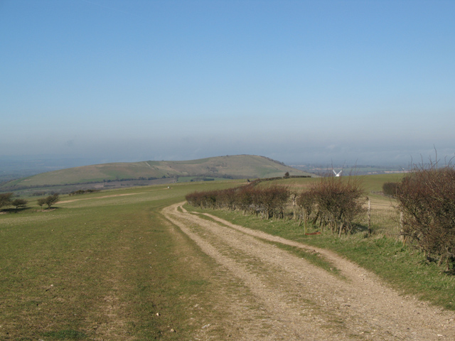 South Downs Way towards Jack&Jill Windmills