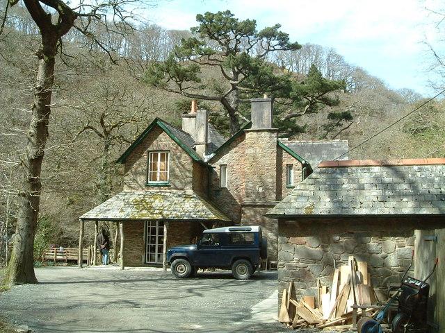 Cafe and Shop Watersmeet Devon