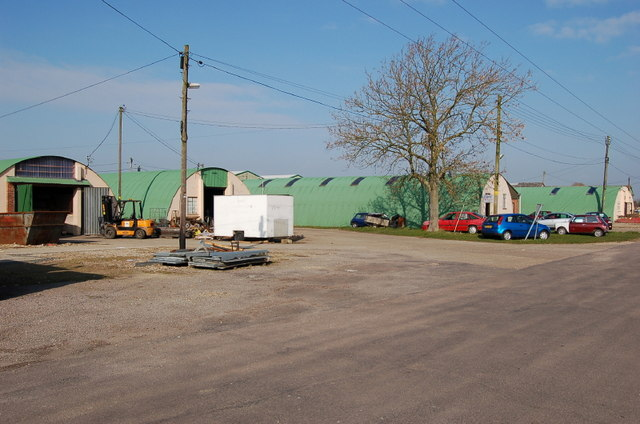 Old Nissen huts - Old Buckenham airfield