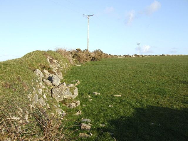 Cornish wall