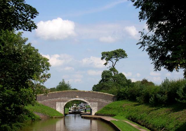 Snows Bridge and the Shropshire Union Canal
