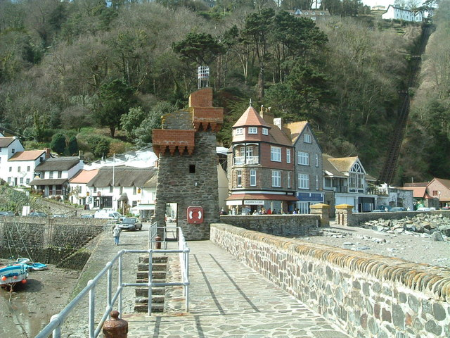 Harbour Wall .Lynmouth