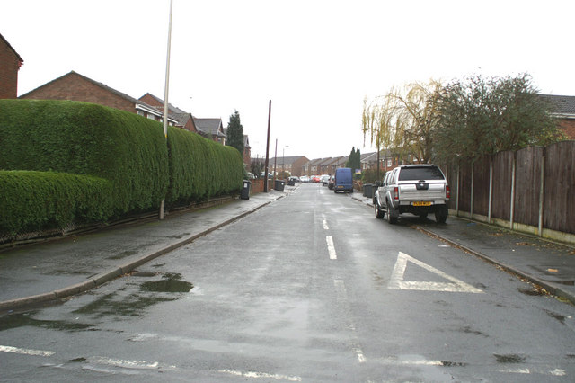 Eastern end of Elizabethan Drive, Spring View