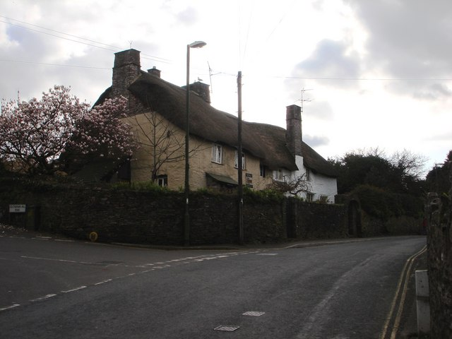 Thatched House, corner of Southdown Hill Road, Brixham