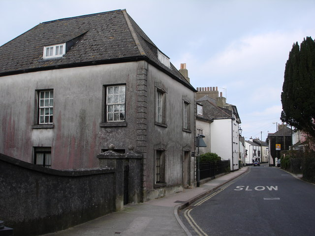 Old houses, Milton Street, Brixham