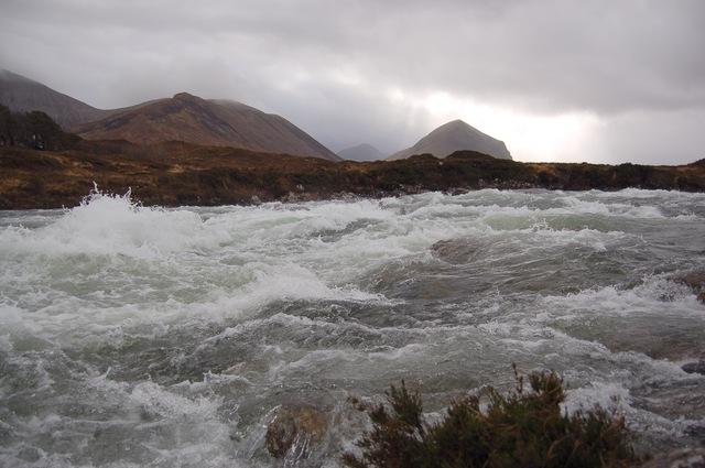 River Sligachan in spate