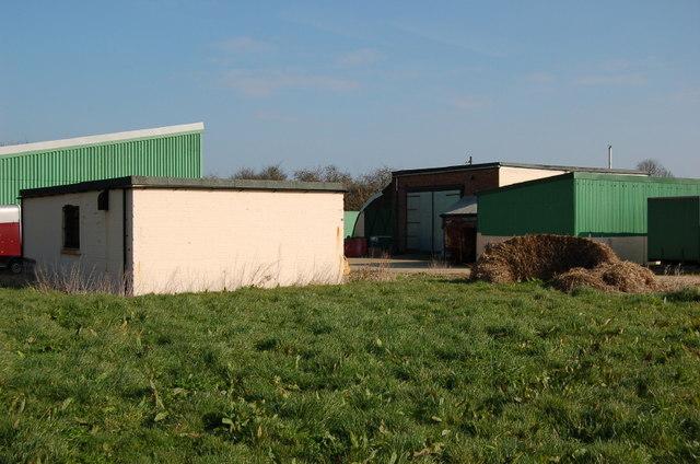 Old airfield buildings, Old Buckenham