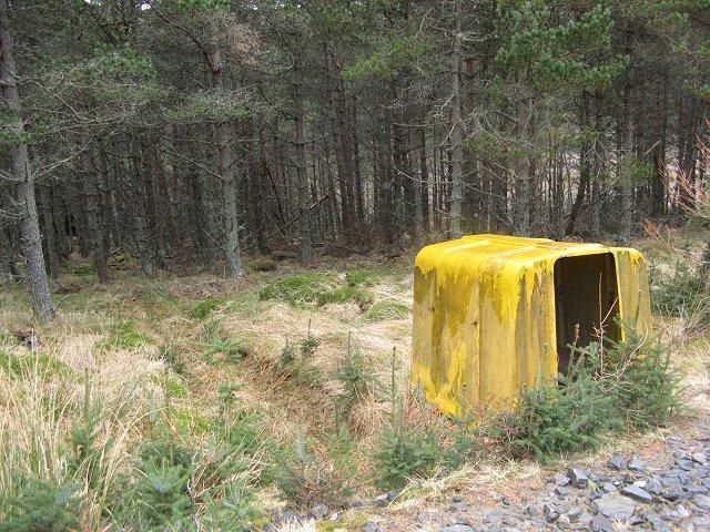 Forestry workers shelter, Glen Finlet