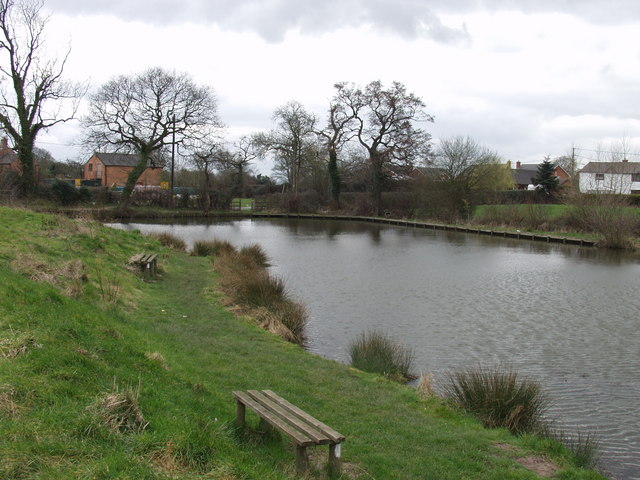 Fishing pond near to St Martins