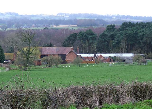 Camp Farm, near Highgate Common, Staffordshire