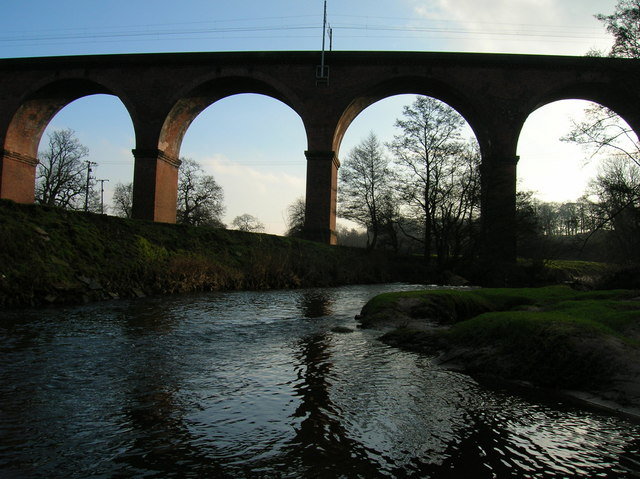 Twemlow Railway Viaduct from NW