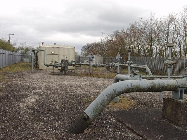 Gas National Grid pumps