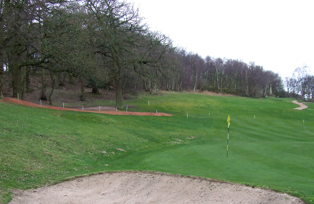 Golf Course Development following Woodland Clearance