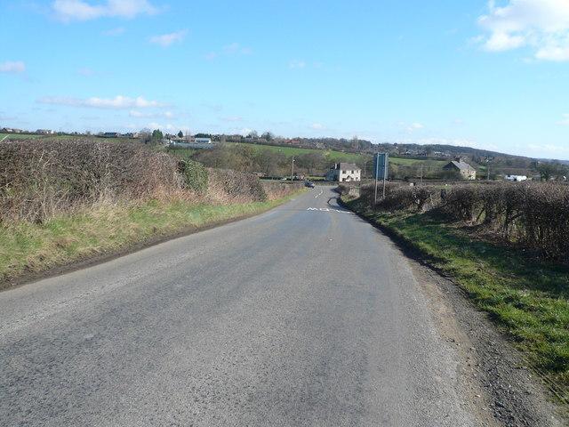 Birkin Lane - View towards Wingerworth Garden Centre
