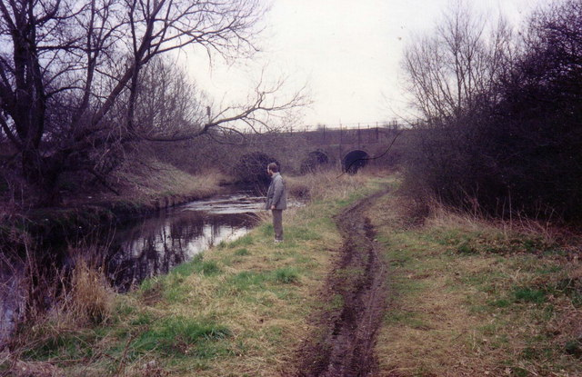 River Crane tunnel, NW end