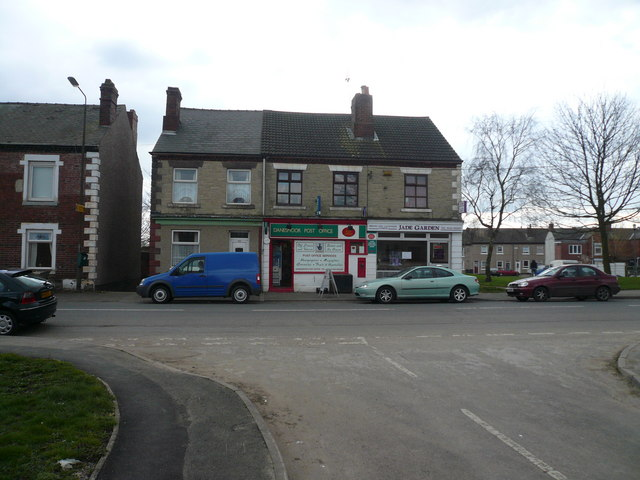 Danesmoor - Post Office and Chinese Take Away