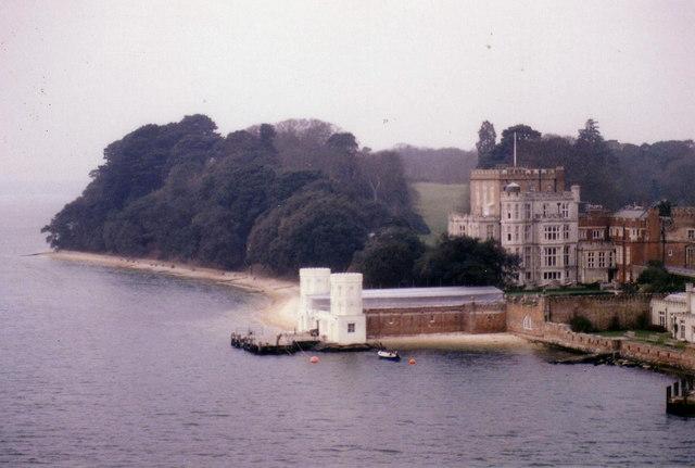 Branksea Castle, Brownsea Island, Poole.
