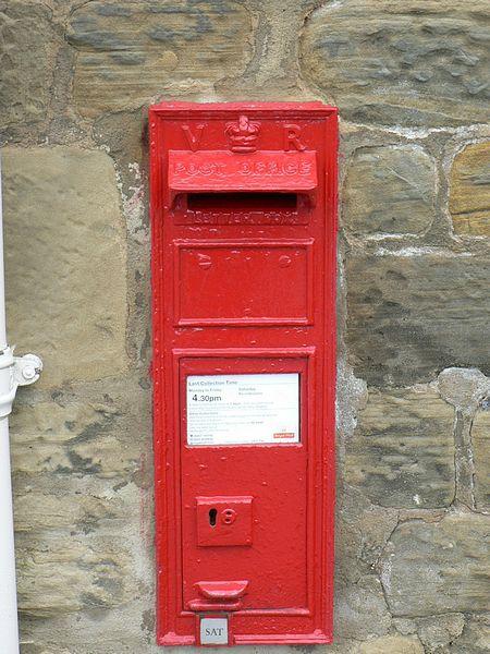 Victorian Post Box, Home Farm, Stank