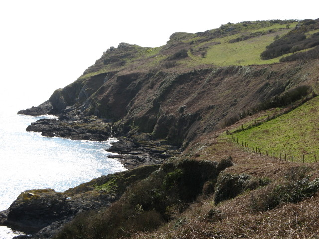 Pencarrow Head between Lansallos and Polruan