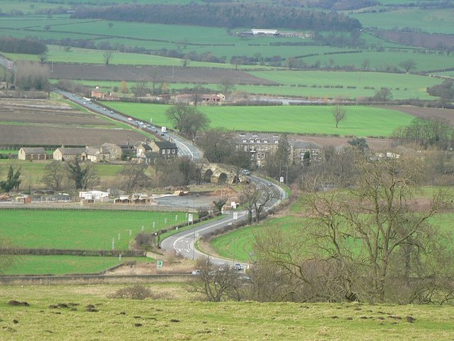 Harewood Bridge from the Harewood Estate