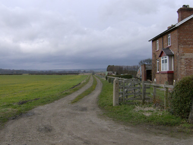 Harome Siding, on Nunnington - Helmsley railway line