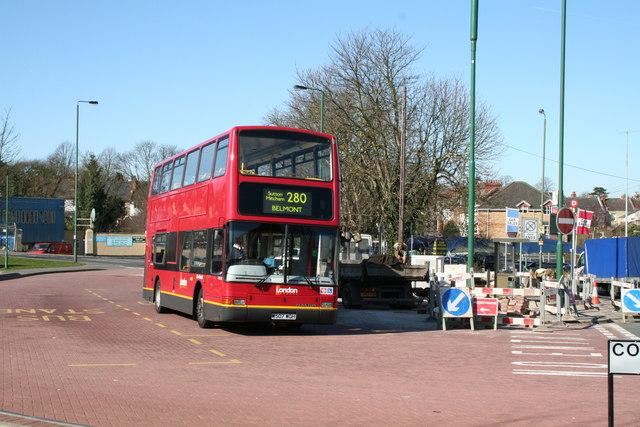 Belmont bus terminus, Surrey