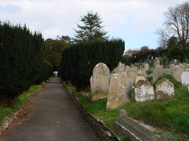Tombstones, St Mary the Virgin, Higher Brixham