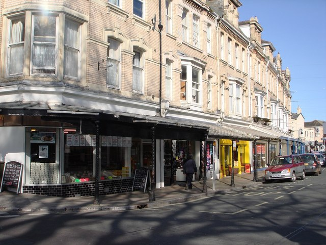 Shops, Palace Avenue, Paignton