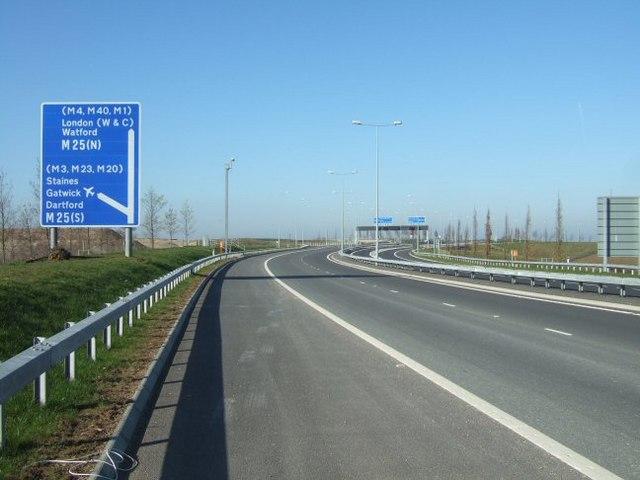 Terminal 5 Spur Road