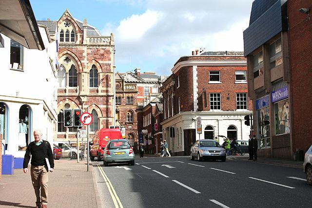 Exeter: towards Queen Street