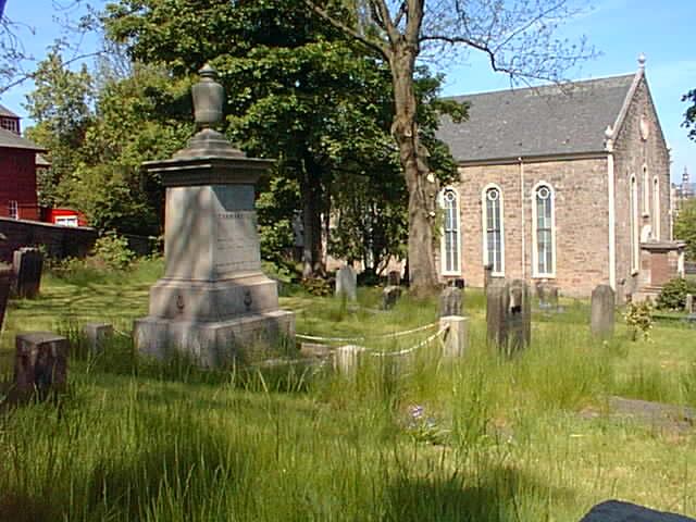Castlehead Church, Paisley (Robert Tannahill Grave)