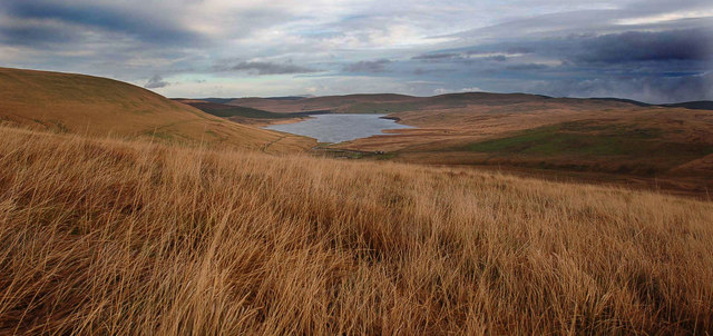 Daer Reservoir from Ewe Gair