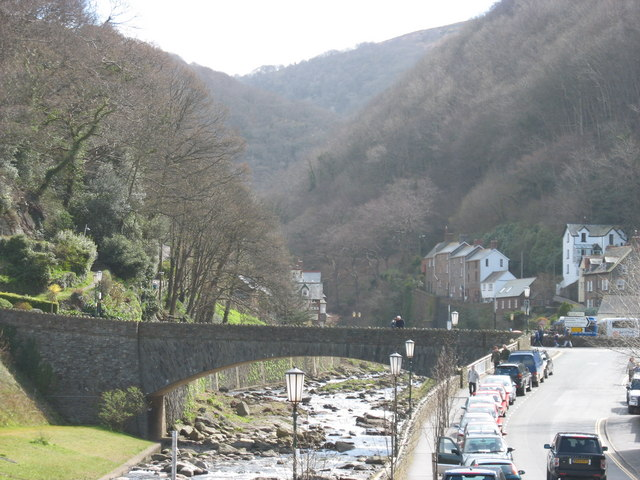 The Gorge. Lynmouth