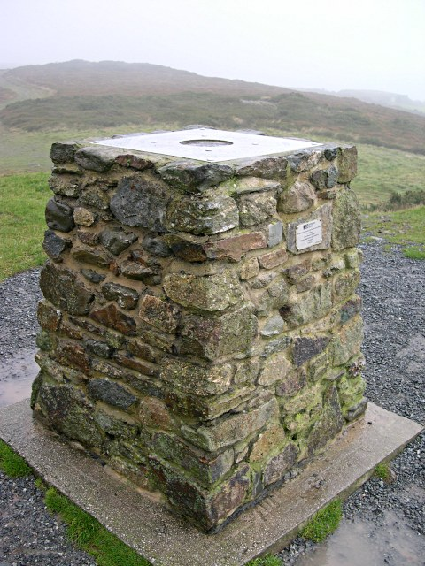 GPS Reference Station on St Agnes Beacon