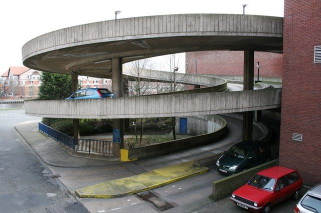 Access Ramp to Castlegate Car Park