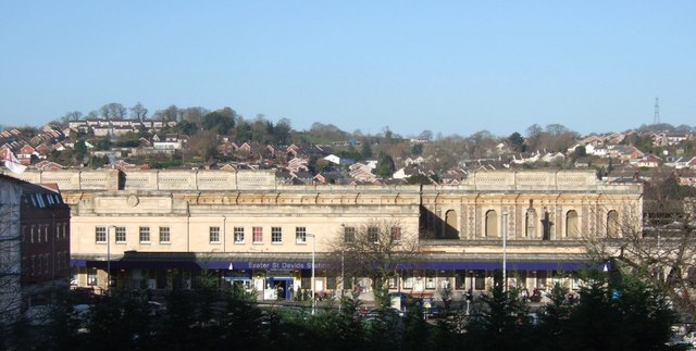 Exeter St David's railway station