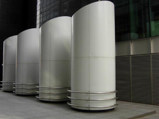Ventilation Shafts, Euston Road