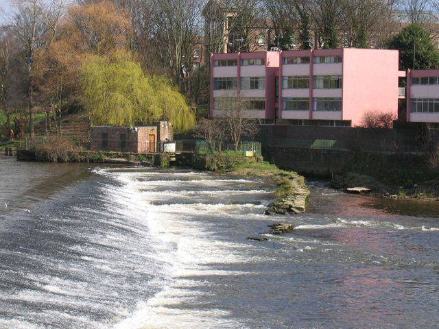 The Salmon Steps at Chester's Weir