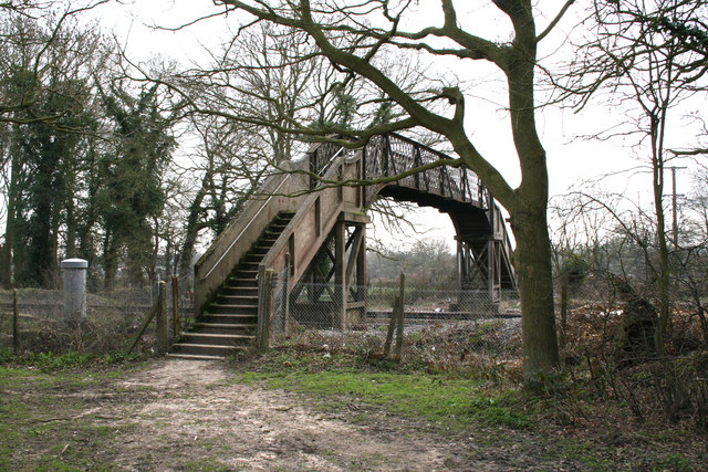 Footbridge, Old Basing, Hampshire