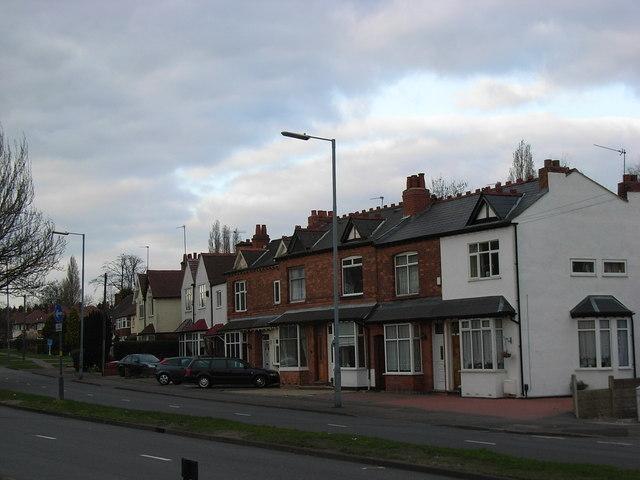 19th century houses, Eachelhurst Road.