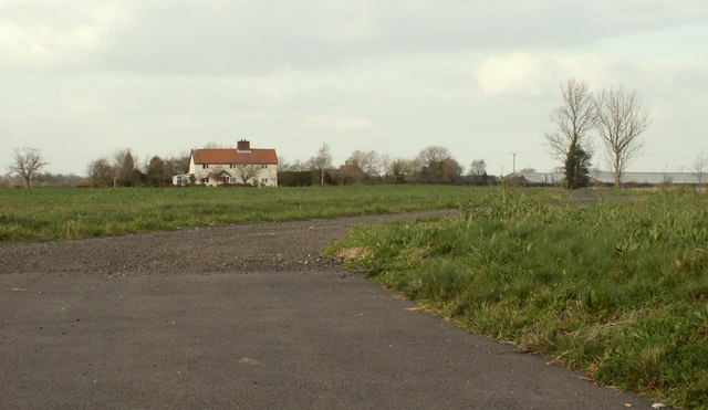 Looking across to Hall Cottage