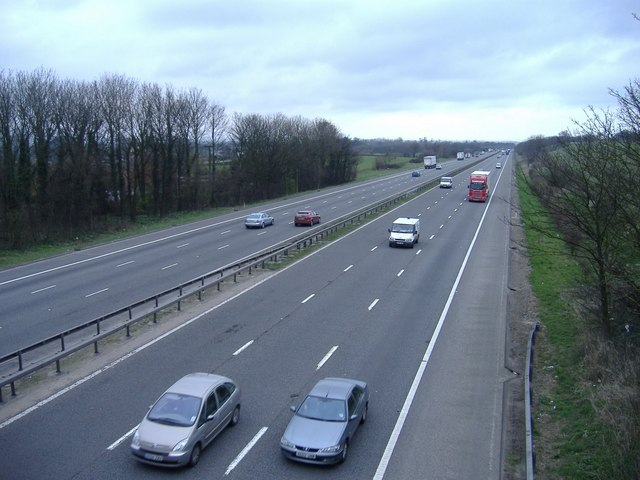 M5 motorway, near Stinchcombe