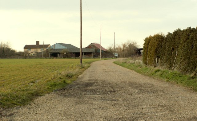 A view of Bane's Farm
