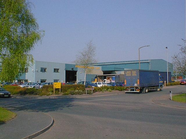 Freight Depot, Maybrook Road, Brownhills.