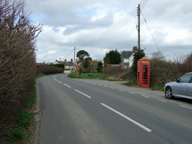Old Style Phonebox at Pulham Village