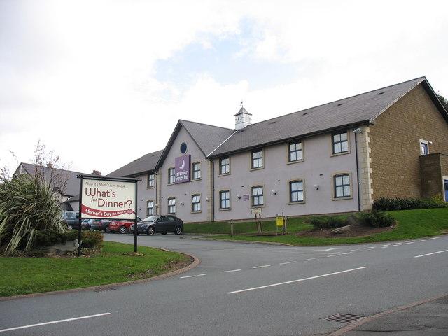 The entrance to the Parc Britannia Motel